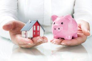 Balancing house and savings