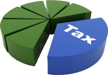 Tax pie
